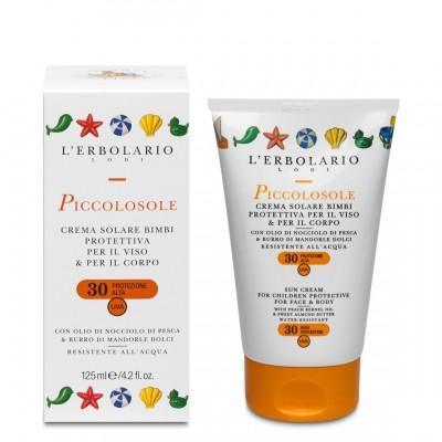 PiccolosoleCr.sol bimbi prot. viso/corpoSPF30 125 ml