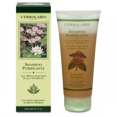 Shampoo Purificante alla Menta e alla Vitamina E